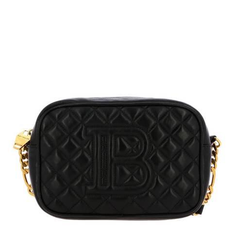 Balmain Black B-Camera Shoulder/Crossbody Bag
