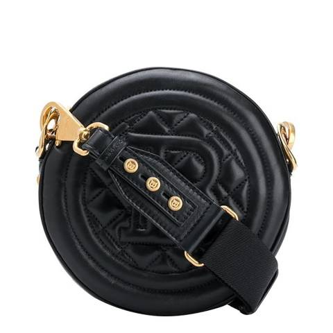 Balmain Black Disco Shoulder/Crossbody Bag