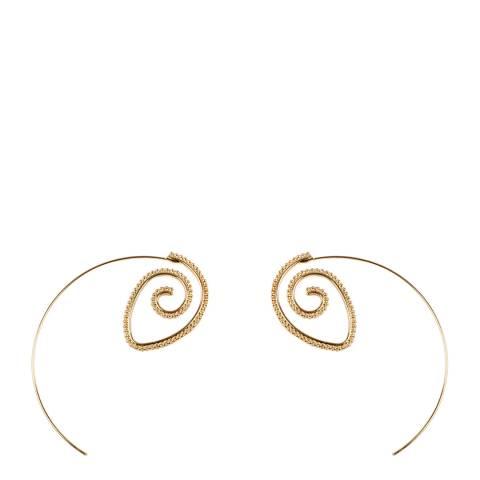 Amrita Singh Gold Izze Hoop Earrings