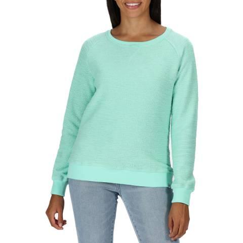 Regatta Green Cotton Blend Jumper