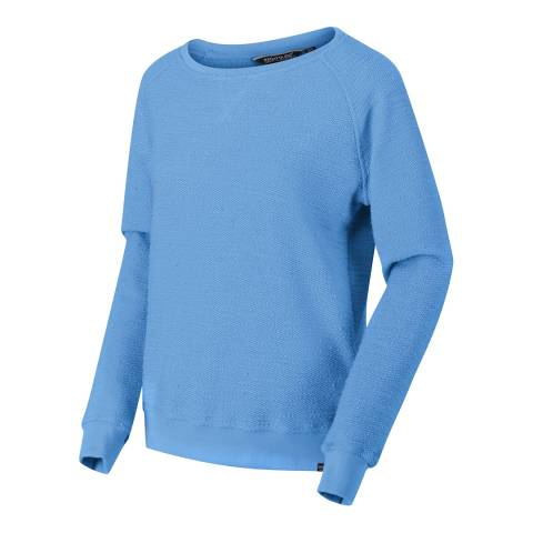 Regatta Blue Cotton Blend Jumper