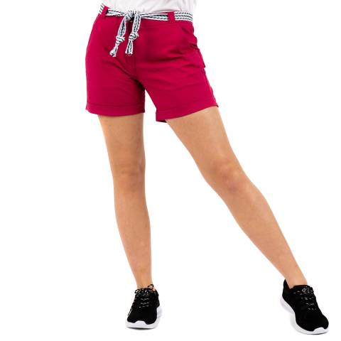 Dare2B Pink Belted Shorts