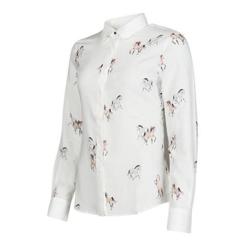 Baleno Horse Print Shirt
