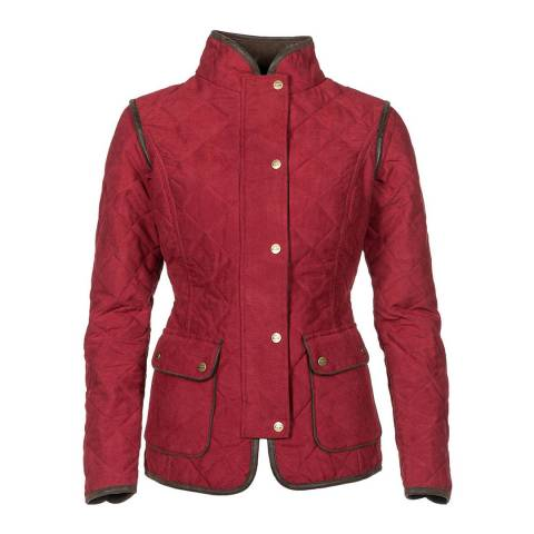 Baleno Red Quilted Jacket