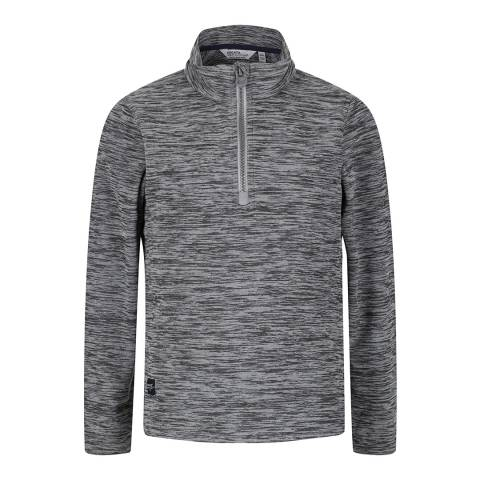 Regatta Storm Grey Shay Half Zip Fleece Top