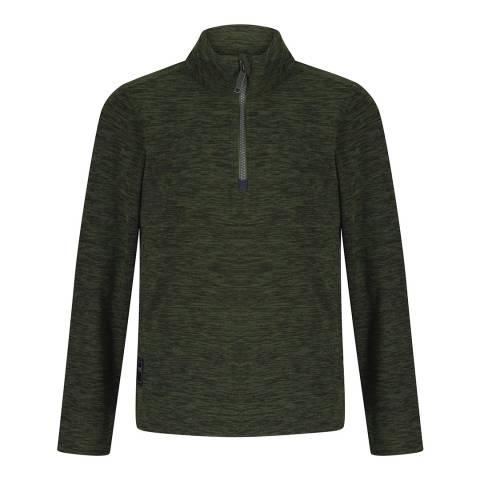 Regatta Racing Green Shay Half Zip Fleece Top