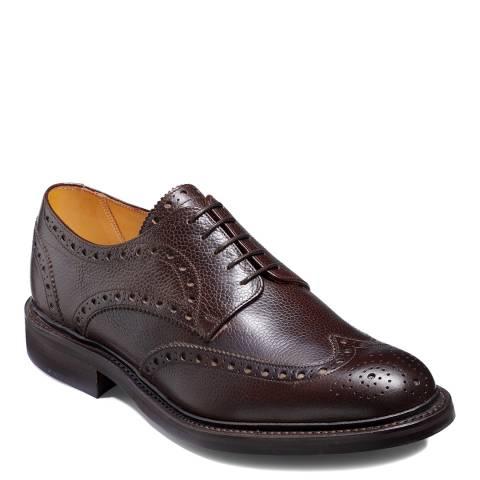 Barker Dark Brown Leather Doddinton Derby Brogue