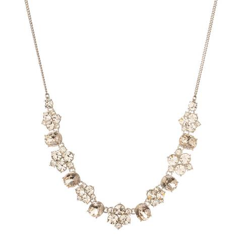 Givenchy Silver Rediscovered Vintage Dramatic Necklace