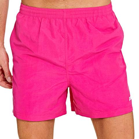 Zoggs Pink Penrith 17 Inch Swimshorts
