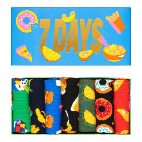 Happy Socks Multi 7 Day Gift Box