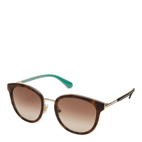 Kate Spade Brown Mint Adayna Tea Cup Sunglasses