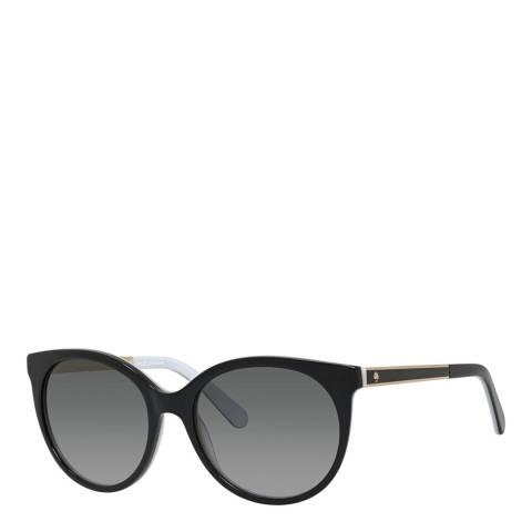 Kate Spade Black Amaya Round Sunglasses