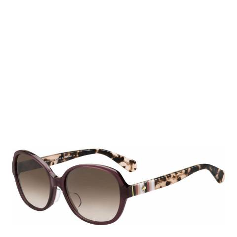 Kate Spade Brown Cailee Square Sunglasses