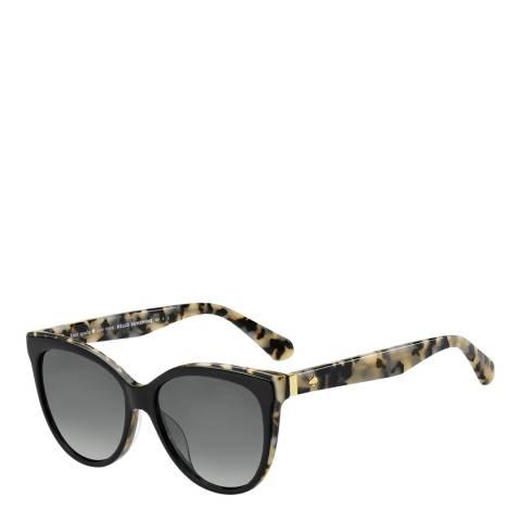 Kate Spade Black Daesha Cat Eye Sunglasses