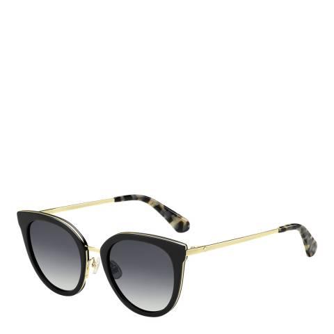 Kate Spade Black Jazzlyn Cat Eye Sunglasses
