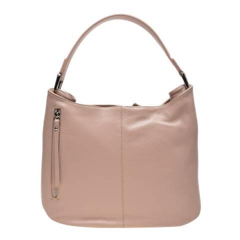 Renata Corsi Pink Leather Shoulder Bag