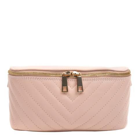 Anna Luchini Pink Leather Belt Bag