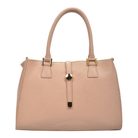 Renata Corsi Pink Leather Top Handle Bag