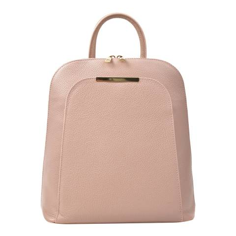 Renata Corsi Pink Leather Backpack