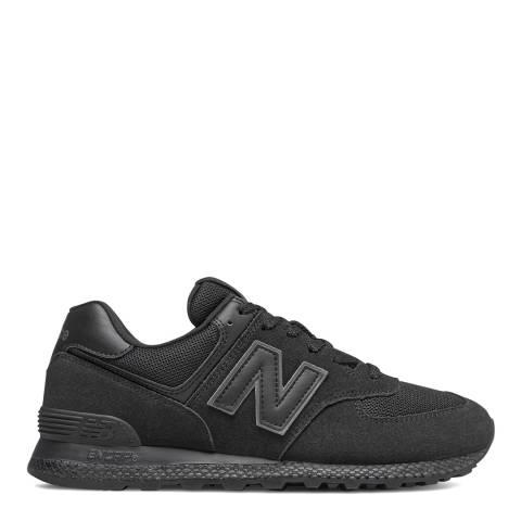 New Balance Black 574 Trainers