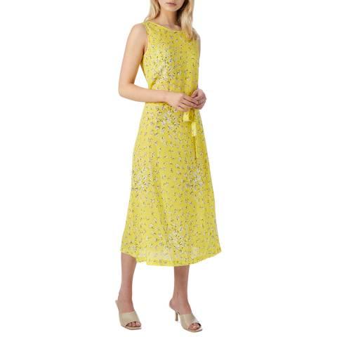 L K Bennett Lemon Perry Dress