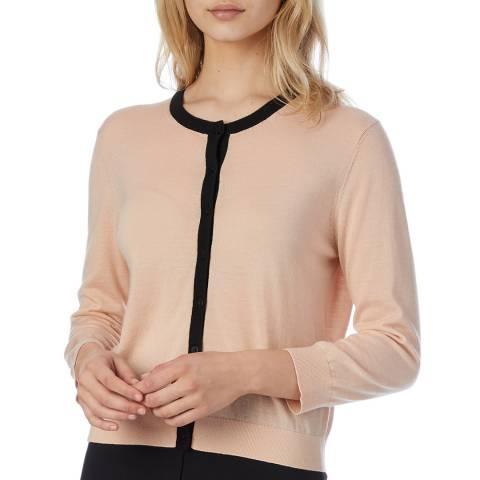L K Bennett Pale Pink Charlie Wool Cardigan