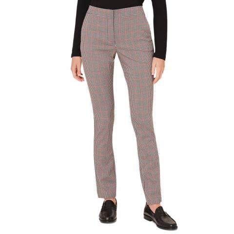 Hobbs London Multi Annie Check Trousers