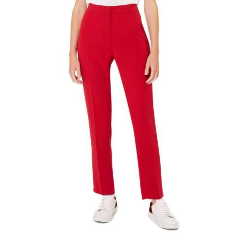 Hobbs London Red Zinnia Trousers