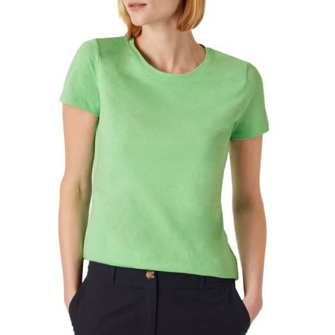 Hobbs London Green Pixie Cotton T-Shirt