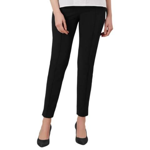 Hobbs London Black Adrianna Skinny Stretch Trousers