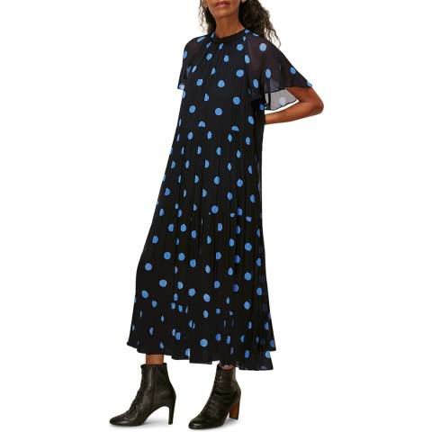 WHISTLES Multi Margie Spot Dress