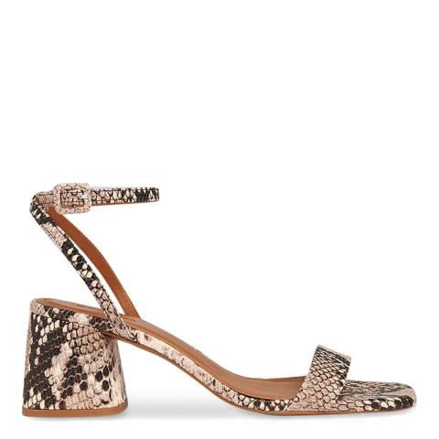 WHISTLES Multi Hale Block Heel Sandal