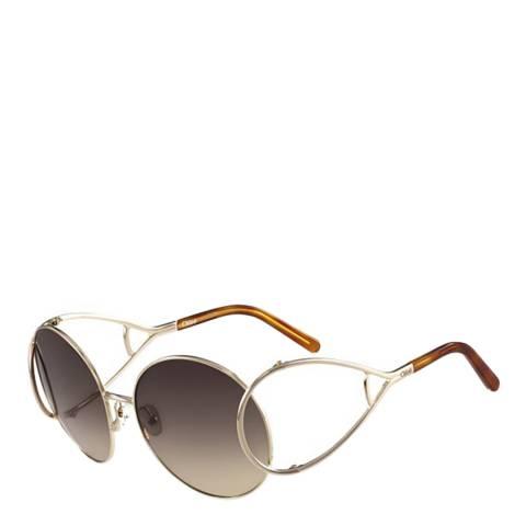 Chloe Women's Gold Sunglasses 60mm