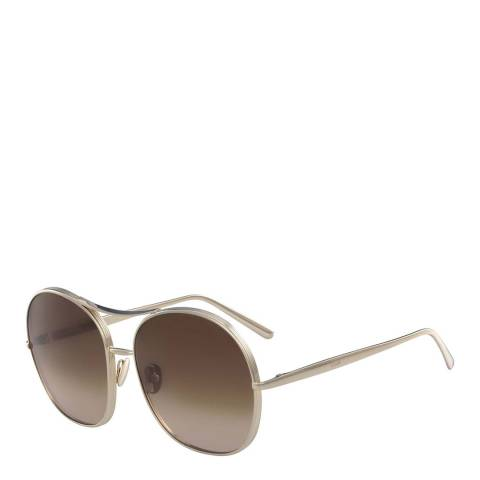 Chloe Women's Gold Sunglasses 61mm