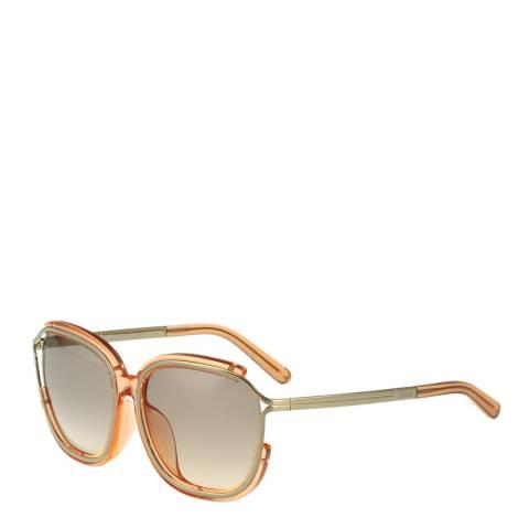 Chloe Women's Peach Sunglasses 59mm