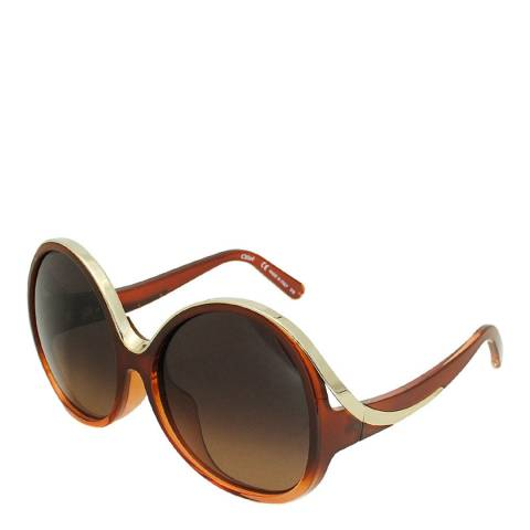 Chloe Women's Brown Sunglasses 61mm
