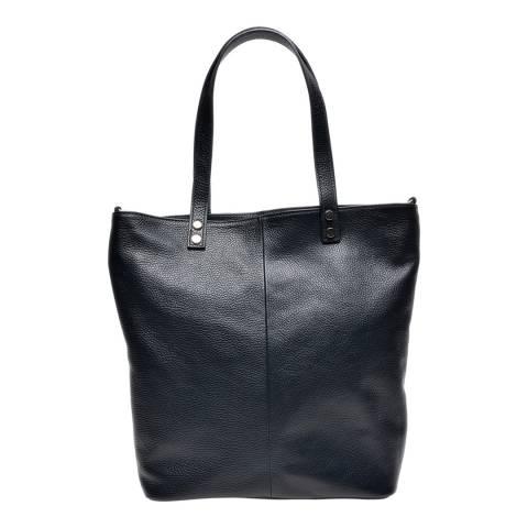Renata Corsi Black Leather Shoulder Bag