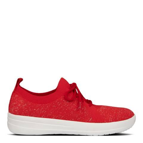 FitFlop Red F-Sporty Uberknit Sneakers
