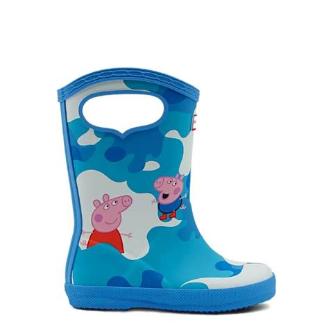Hunter Forget Me Not Classic Wellies
