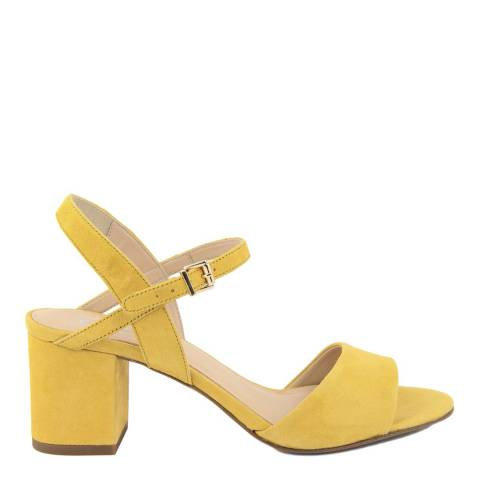 Eye Yellow Suede Sandals