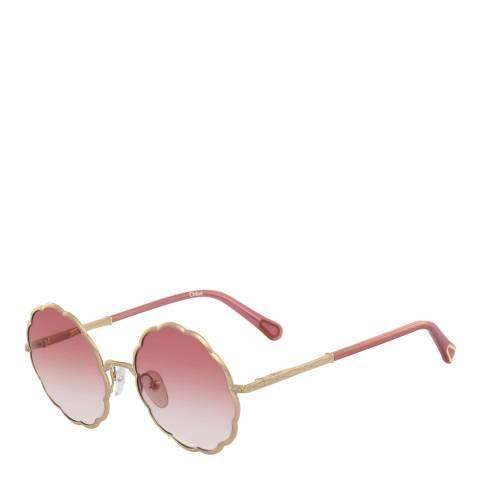 Chloe Women's Rose Gold Sunglasses 49mm