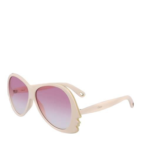 Chloe Women's Ivory Sunglasses 59mm