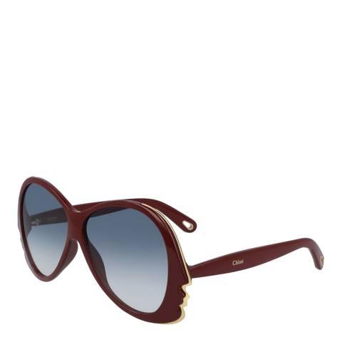 Chloe Women's Bordeaux Sunglasses 59mm