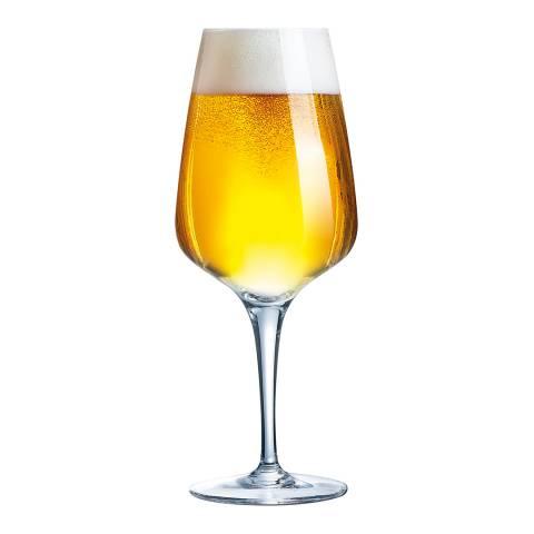 Chef & Sommelier Set of 6 Reveal Up Beer Stemmed Glasses, 450ml