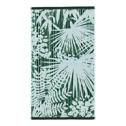 Clarissa Hulse Rainforest Bath Sheet, Green