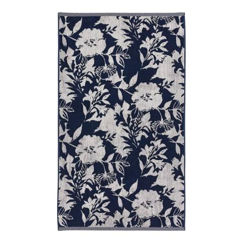 Helena Springfield Lilium Bath Towel, Indigo