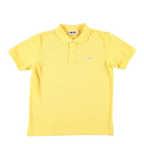 Love Brand & Co Lemon Yellow Classic Short Sleeved Polo