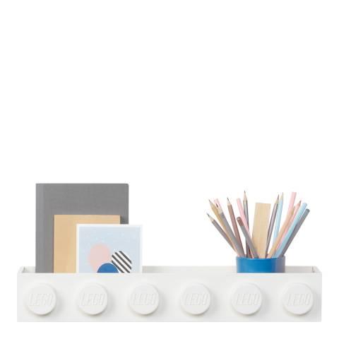 Lego White Book Rack