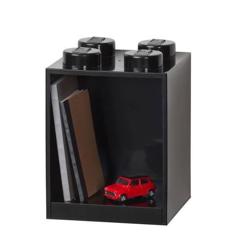 Lego Black 4 Brick Shelf