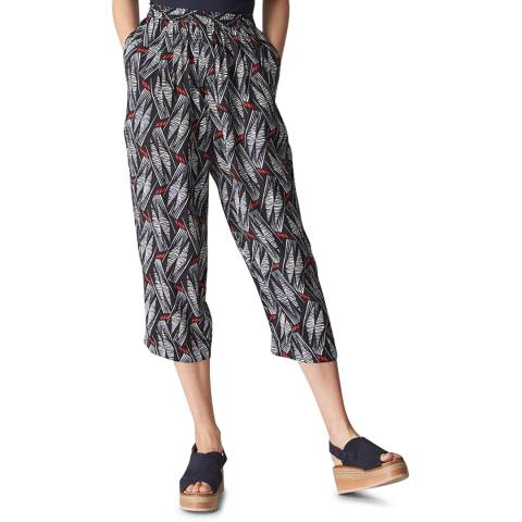 WHISTLES Multi Carrie Lightweight Trousers